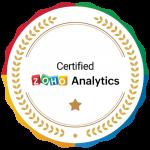 Zoho Analytics Certified